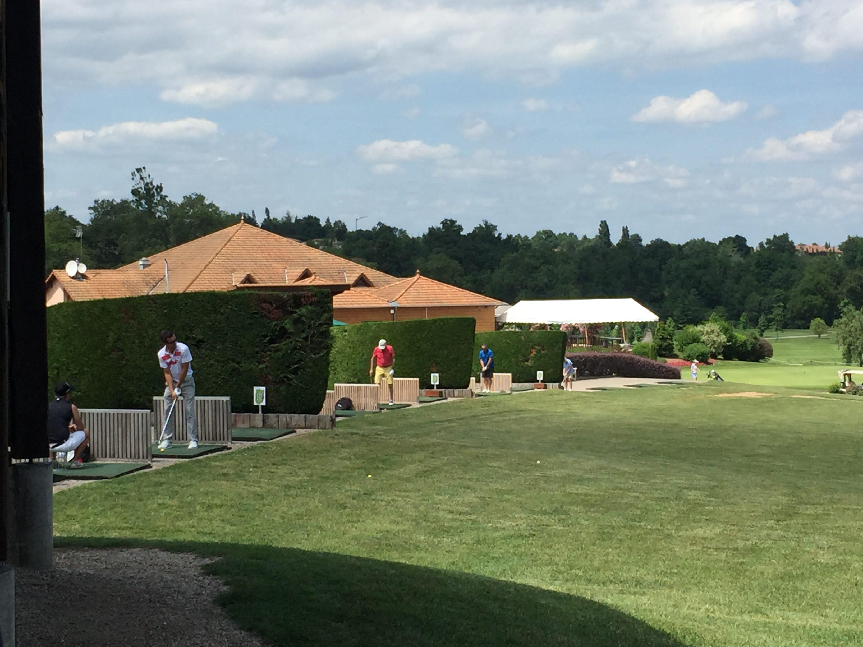 Journée golf à la tour de Salvagny